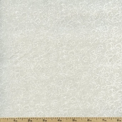 Tone on Tone Foliage Cotton Fabric - Tan TONE-3001