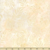 Tonga Batik Cotton Fabric - Leaf - Linen B7011