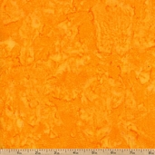 Tonga Java Blender Batik Cotton Fabric - Tangerine