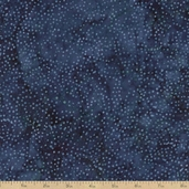 Tonga Batik Starry Sky Cotton Fabric - Navy