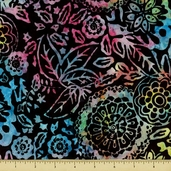 "Tonga Batiks Extra Wide Cotton Fabric - 106"" - B7854-MULTI"