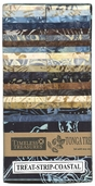 Tonga Treat Strips - Coastal Batik Prints