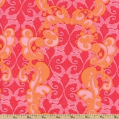 Top Drawer Lattice Cotton Fabric - Pink