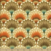 Touch of Spice Cotton Fabric - Spice Gold FAFF722-1
