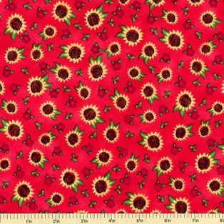 http://ep.yimg.com/ay/yhst-132146841436290/touched-by-an-angel-sunflower-toss-cotton-fabric-red-2.jpg