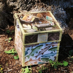 Trail Mix Keepsake Box