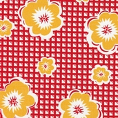 Treasures and Tidbits Cotton Fabric Collection - Red