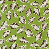 Treasures and Tidbits Cotton Fabric - Leaf - Clearance