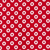 Treasures and Tidbits Cotton Fabric - Red