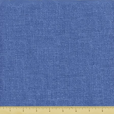 Treasures Chambray Rose Cotton Fabric - Blue 649-B