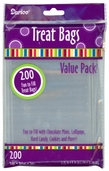 Treat Bags - 3.75in. x 6in. - Clear -Package of 2