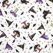 Trick or Treat Fabrics - Ghostly White