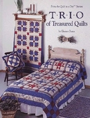TRIO of Treasure Quilts from the Quilt in a Day Series Books by Eleanor Burns