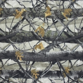 True Timber Tree Fleece Fabric - Camo