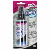 Tulip Fabric Glitter Spray Paint - Sparkling Star