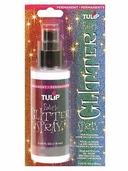 Tulip Fabric Glitter Spray - Red