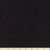 Tweedy Cotton Fabric - Black