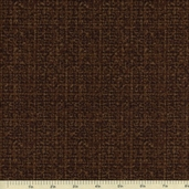 Tweedy Cotton Fabric - Brown