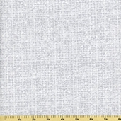 Tweedy Cotton Fabric - Silver Grey
