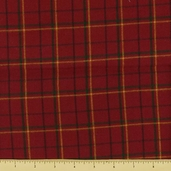 Twill Checker Flannel - Plaid - Red