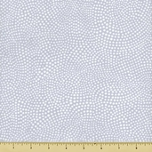 Two to Tango Cotton Fabric - Swirled Dots - Grey