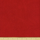 Two to Tango Cotton Fabric - Swirled Dots - Red