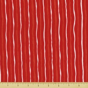 Two to Tango - Wavy Stripe - Red