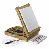 U Easel Paint Set