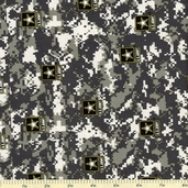 U.S. Army Cotton Fabric - Camouflage