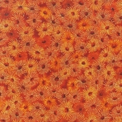 Under the Australian Sun Cotton Fabric - Spice - Clearance