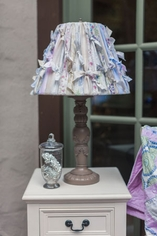 Upscale Lampshade Makeover