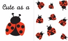 Uptown Baby Iron-On Color Transfer - Ladybug