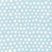 Urban Blooms Flannel Fabric - Aqua