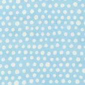 Urban Blooms Flannel Fabric - Sky