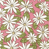 Urban Blooms Flannel Fabric - Spring