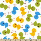 Urban Zoologie Chick Cotton Fabric - Bermuda