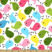 Urban Zoologie Slicker Laminated Cotton Fabric - 55 inch - Garden AAKL-11507-238