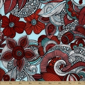 Valentina Floral Cotton Fabric - Celebration AVO-13430-203