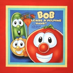 Veggie Tales Helping Hands - Book Panel - CLEARANCE