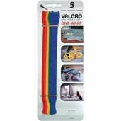 VELCRO� brand Get-A-Grip Straps Multicolored 1/2 inch X 8 inch