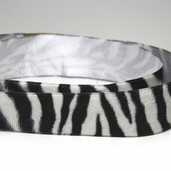 Velour Ribbon Trim 1.5in. - Zebra - 11yds