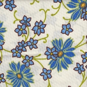 Vera's Garden Cotton Fabric - Cream