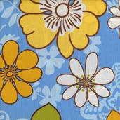 Vera's Garden Cotton Fabric - Spring - Large Floral