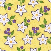 Veranda Cotton Fabric - Garden - Clearance