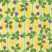 Veranda Cotton Fabric - Garden
