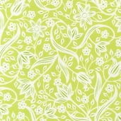 Veranda Cotton Fabric - Leaf