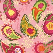 Veranda Cotton Fabric - Sorbet