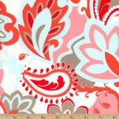 Verona Main Cotton Fabric - Rouge C2800