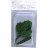 Victoria Lynn Decorative Leaf Spray 6 Pack Bundle - Green