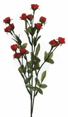 Victorian Sweetheart Rose Spray 24in - Red - Pkg of 12